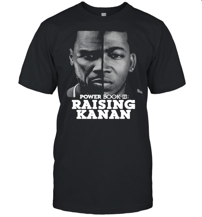 Power Book III Raising Kanan Face Off T-shirt Classic Men's T-shirt