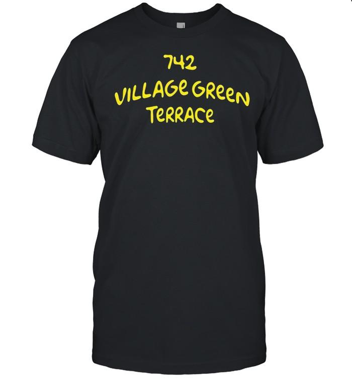 741 Village Green Terrace  Classic Men's T-shirt