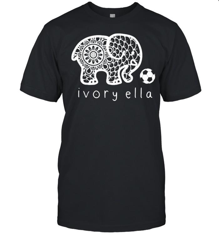 Ivorys Ellas Elephant Soccer T- Classic Men's T-shirt