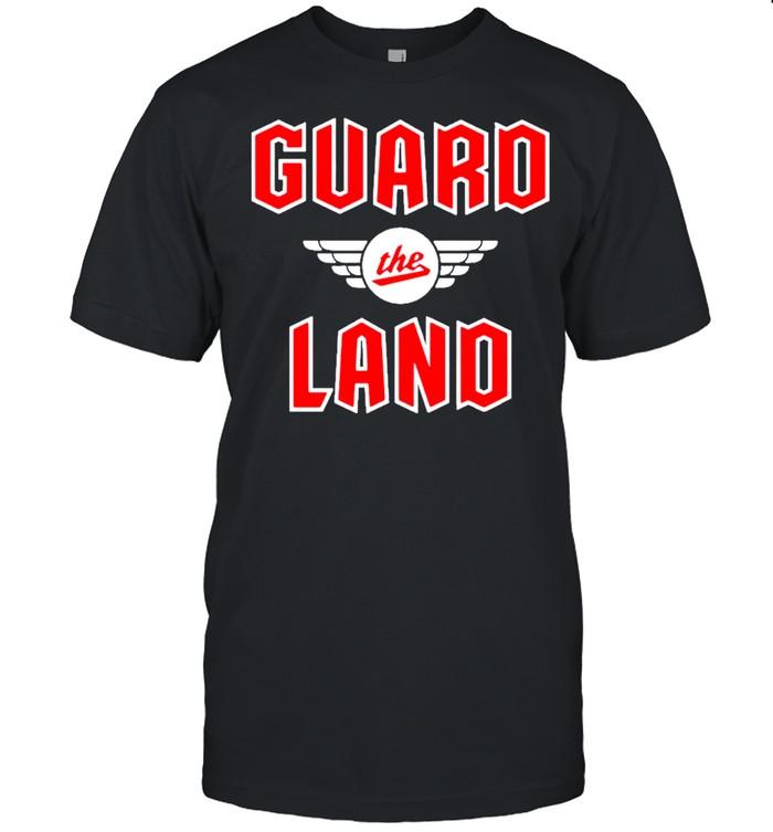 Cleveland guardians guard the land new indians baseball shirt Classic Men's T-shirt