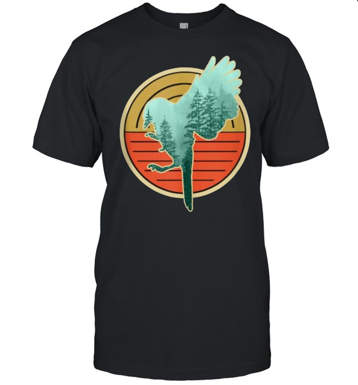 Bird Retro Vintage Wildlife Animal T- Classic Men's T-shirt