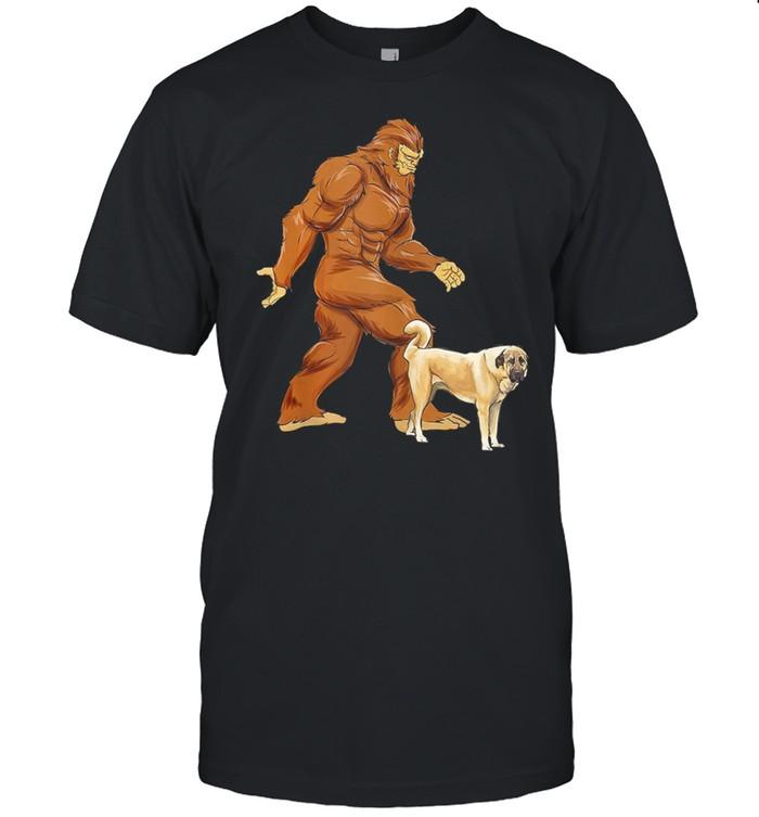 Bigfoot Walking Anatolian Shepherd Classic shirt Classic Men's T-shirt