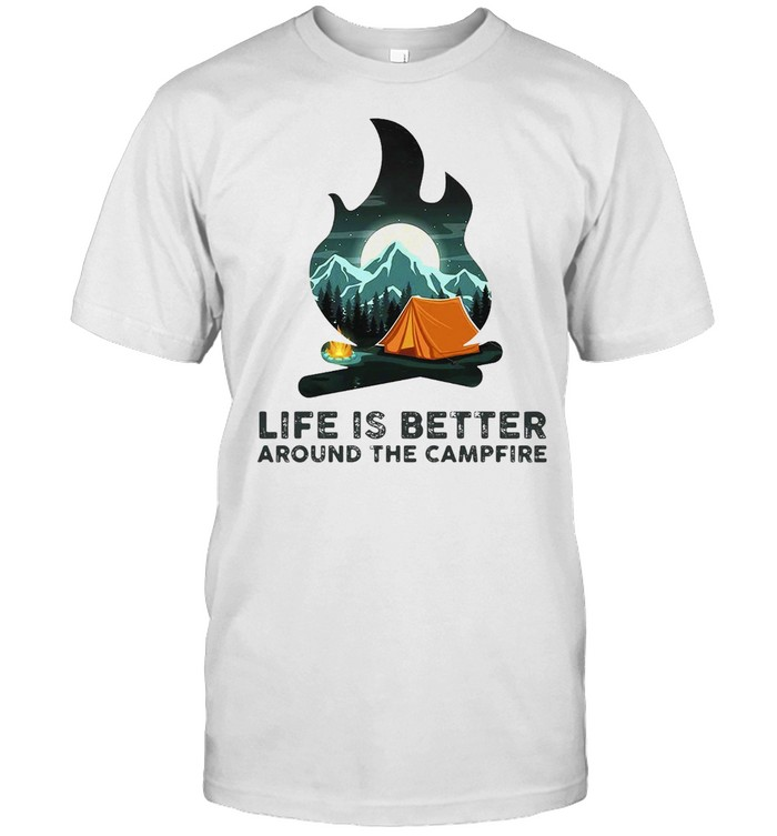 Camping Life Is Better Around The Campfire T-shirt Classic Men's T-shirt
