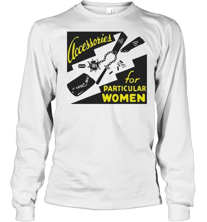 Clacessories For Particular Women Jumper T-shirt Long Sleeved T-shirt