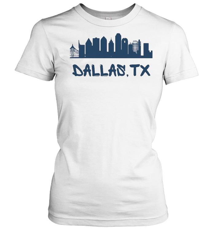 Dallas Texas Skyline Tall  Classic Women's T-shirt