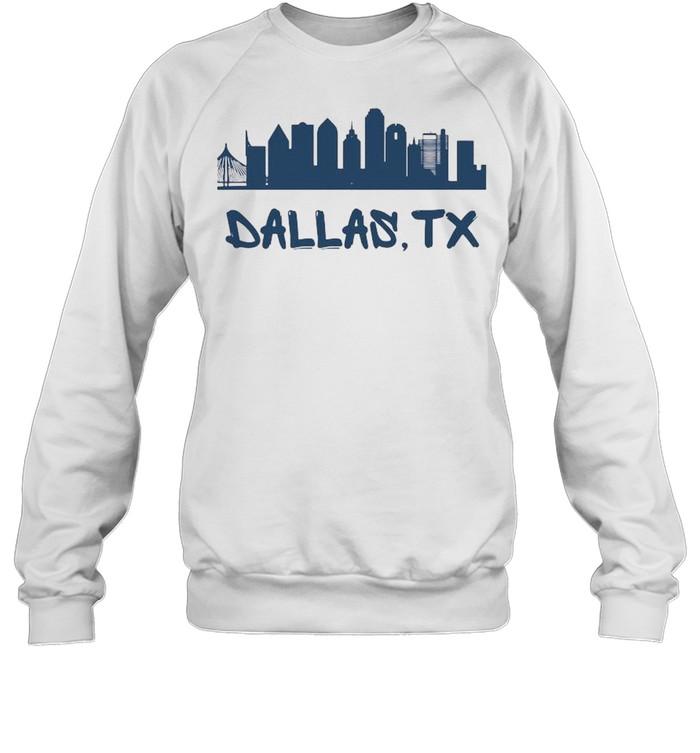 Dallas Texas Skyline Tall  Unisex Sweatshirt