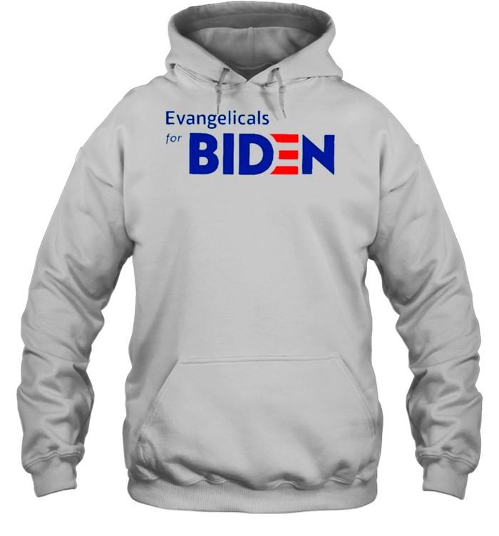 Evangelicals For Biden T- Unisex Hoodie