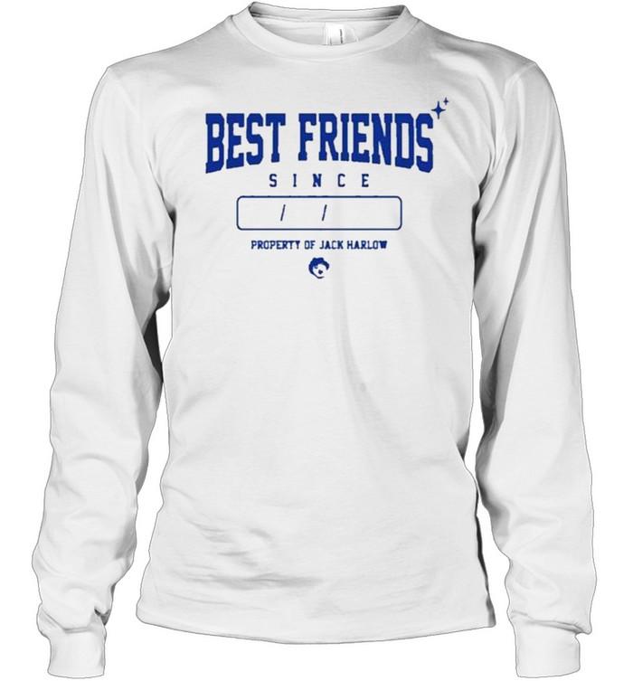 Jack Harlow Already Best Friends T- Long Sleeved T-shirt