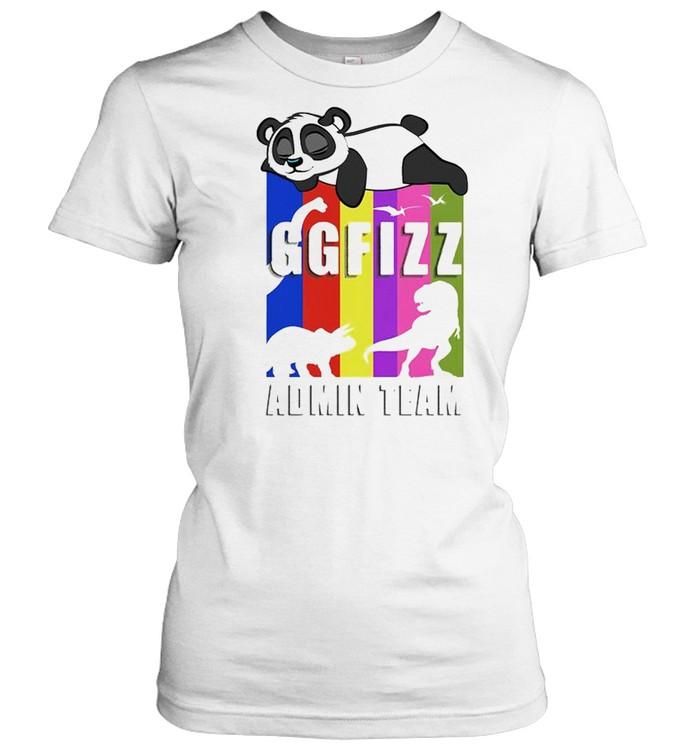 Panda GGFIZZ Admin team shirt Classic Women's T-shirt