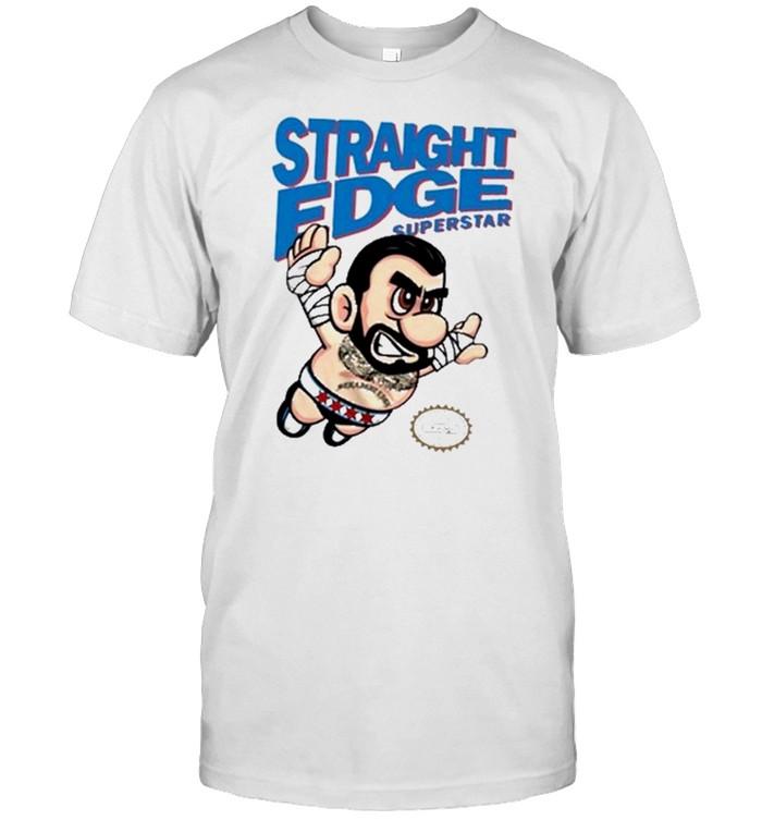 Straight Edge Superstar CM Punk John Cena T- Classic Men's T-shirt