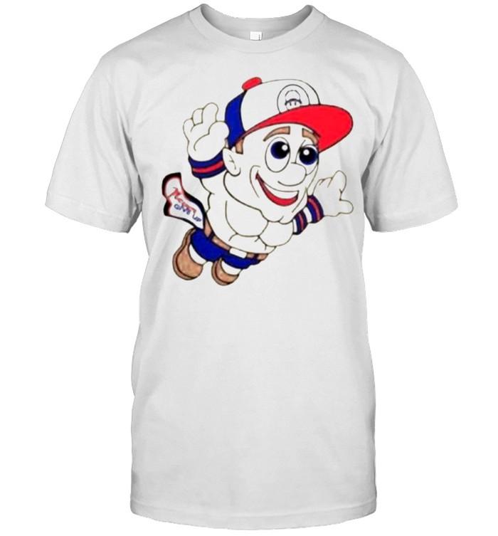 Super Mario WWE John Cena Never Give Up  Classic Men's T-shirt