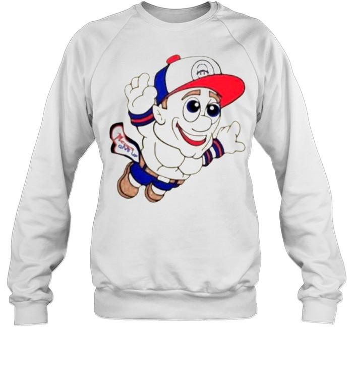 Super Mario WWE John Cena Never Give Up  Unisex Sweatshirt
