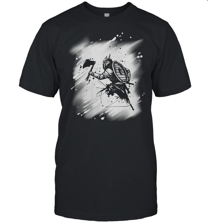 Viking Ragnar Pagan shirt Classic Men's T-shirt