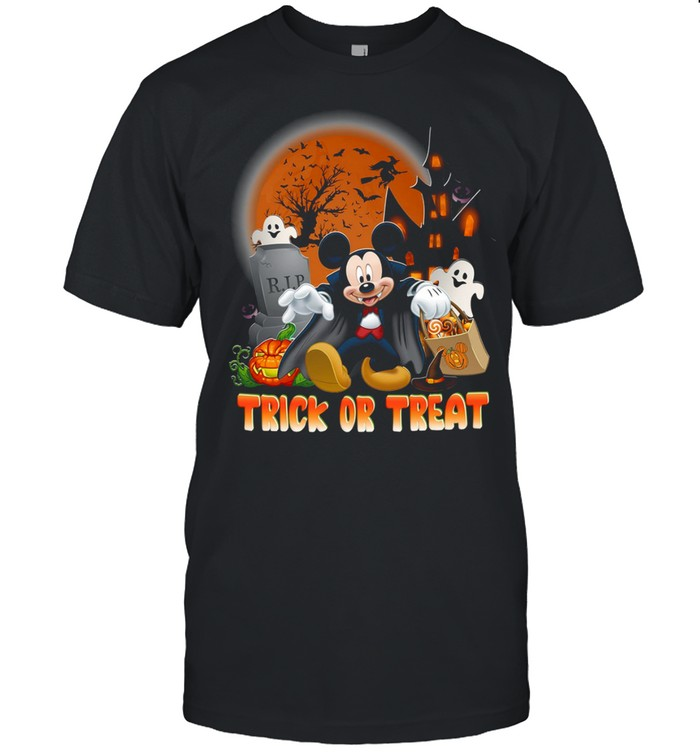 Mickey Mouse Trick or treat shirt Classic Men's T-shirt