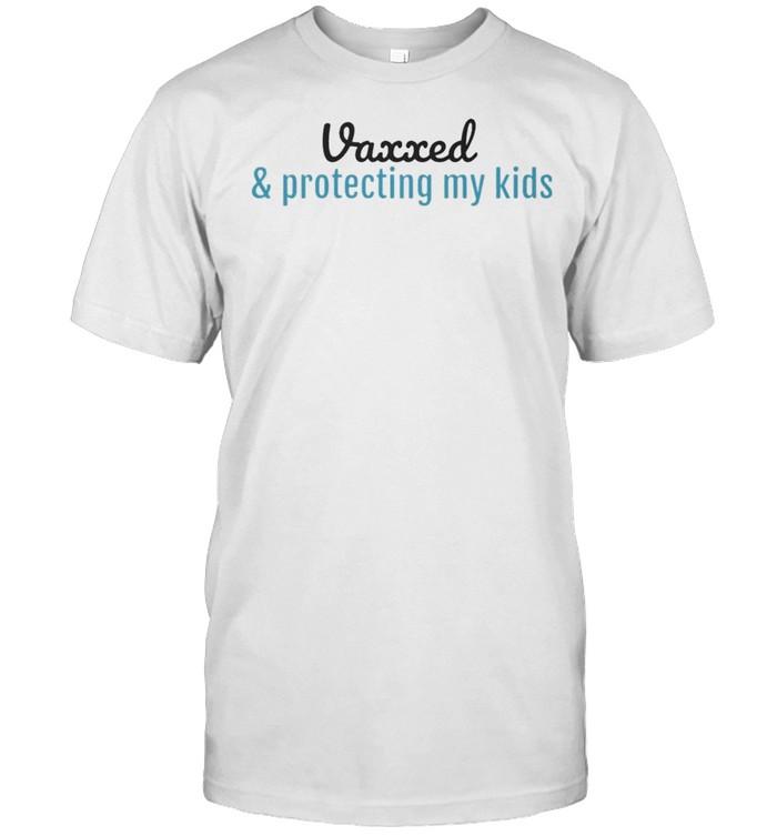 Vaxxed and protecting my kids shirt Classic Men's T-shirt