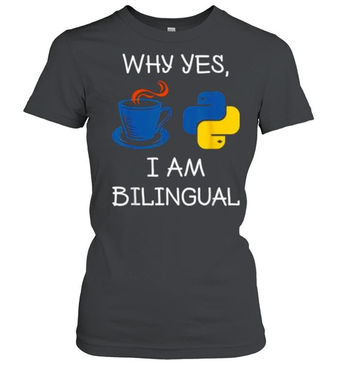 Programming For A Computer Programmer shirt Classic Women's T-shirt