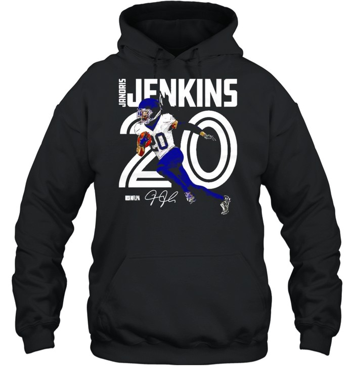 Tennessee Titans Janoris Jenkins inline signature shirt Unisex Hoodie