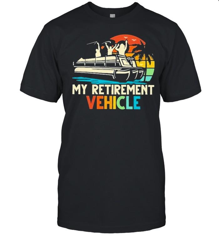 boating my retirement vehicle shirt Classic Men's T-shirt