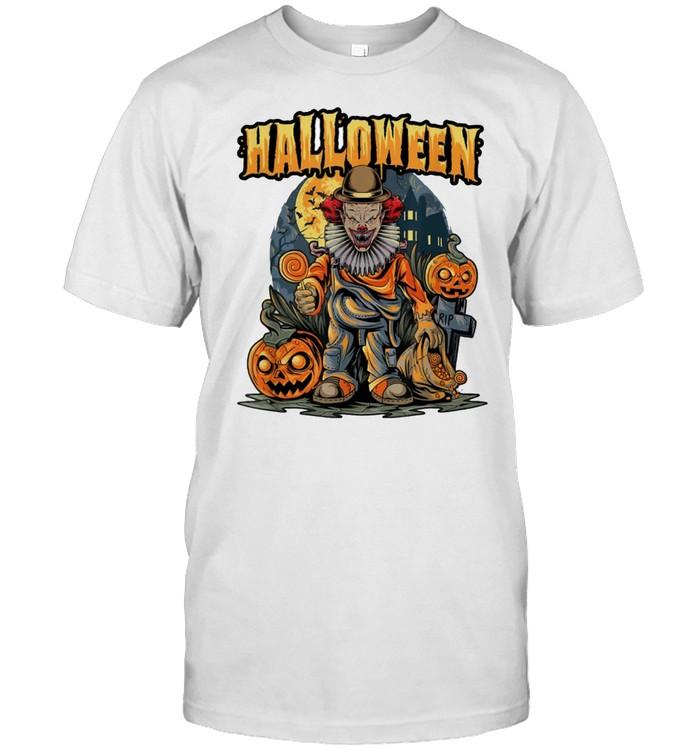 Halloween Scary Clown Horror shirt Classic Men's T-shirt
