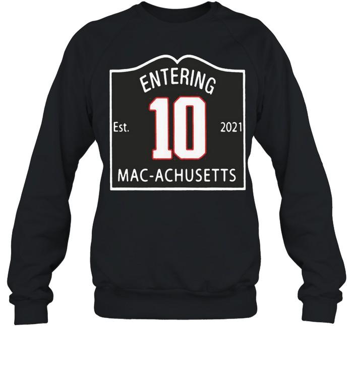 entering macachusetts shirt Unisex Sweatshirt
