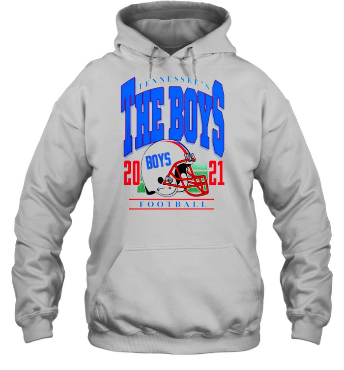 Tennessee's The Boys Football 2021 t-shirt Unisex Hoodie
