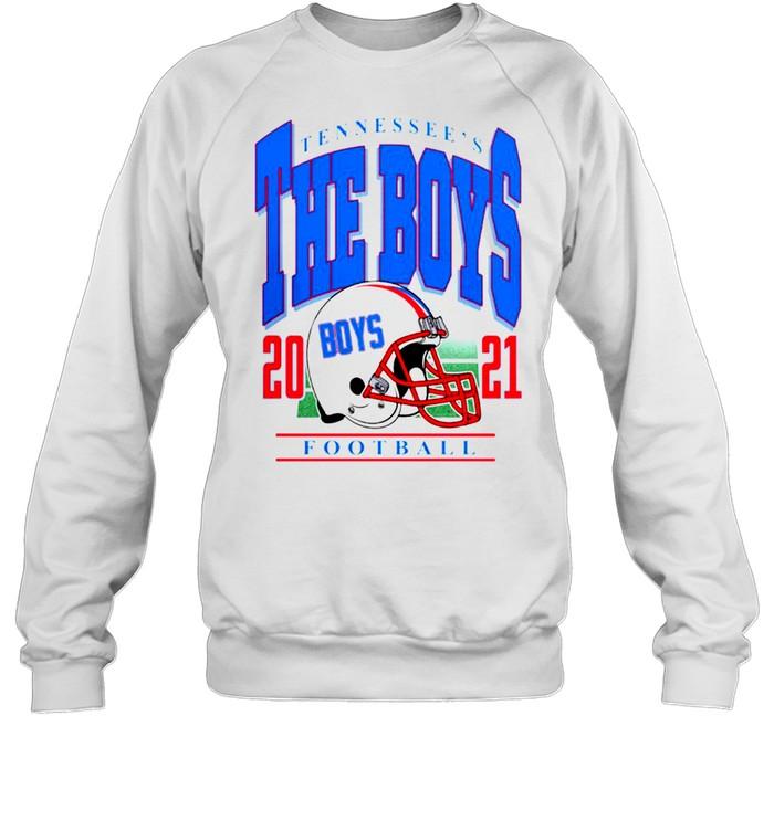 Tennessee's The Boys Football 2021 t-shirt Unisex Sweatshirt