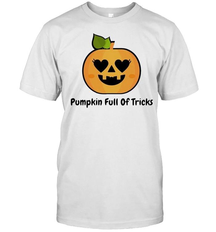 Pumpkin full of tricks shirt