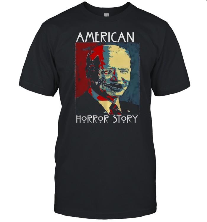 Biden Zombie American horror story shirt