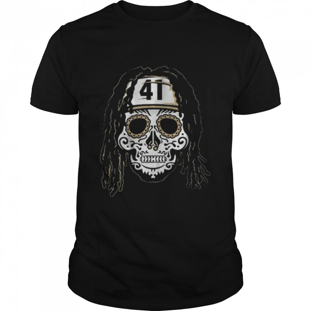 Alvin Kamara Sugar Skull Shirt