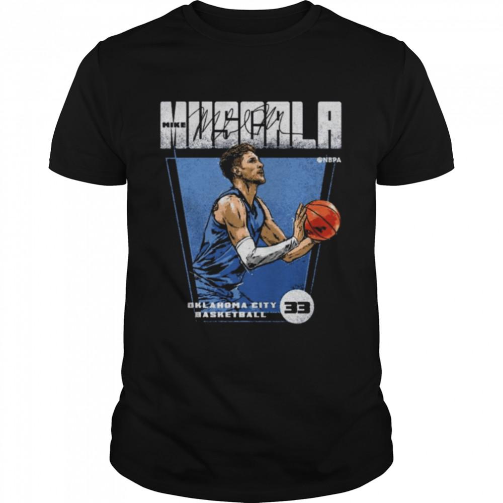 Mike Muscala Oklahoma City Thunder Basketball Premiere signature shirt