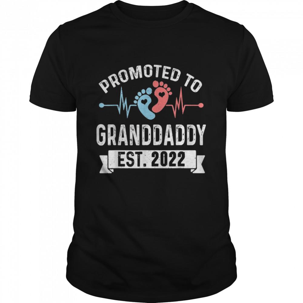 Befördert zu Granddaddy EST 2022 Granddaddy zu sein Shirt