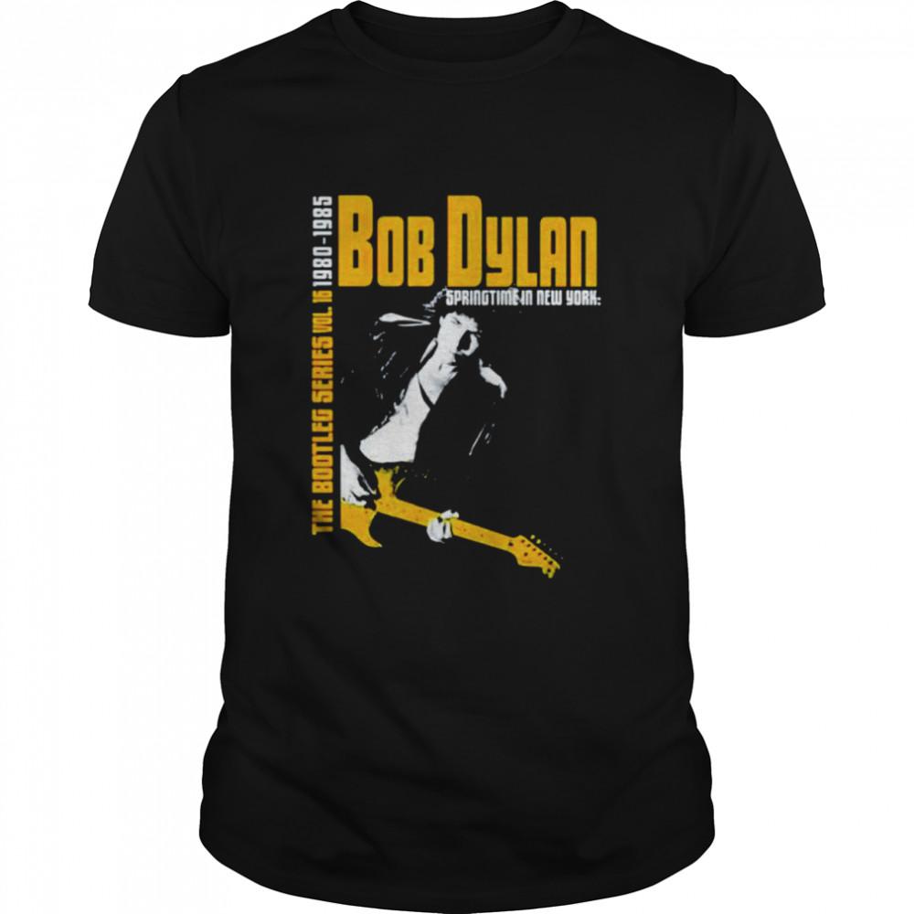 Bob Dylan the bootleg series 1980 1985 shirt