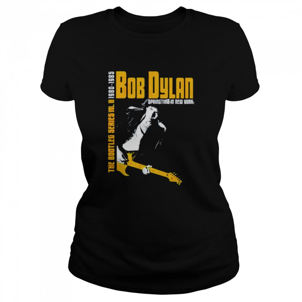 Bob Dylan the bootleg series 1980 1985 shirt Classic Women's T-shirt