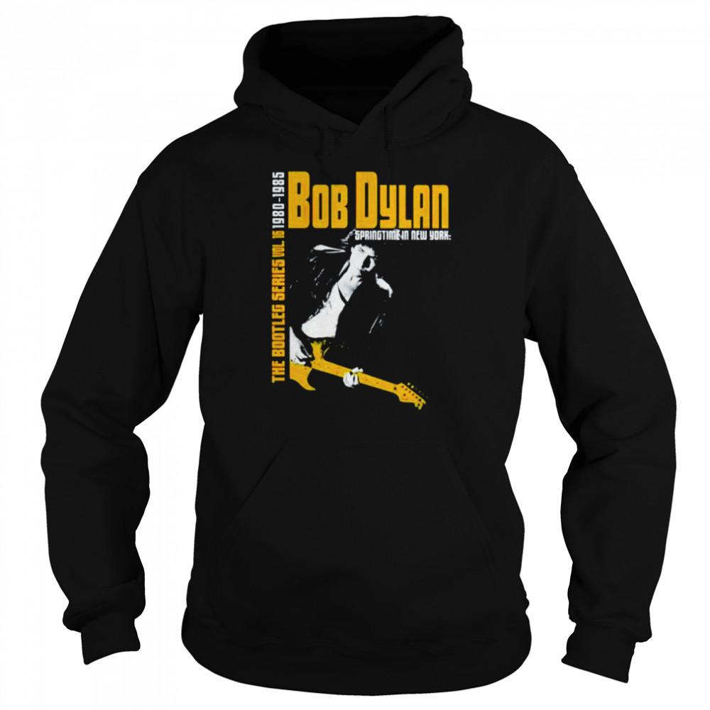 Bob Dylan the bootleg series 1980 1985 shirt Unisex Hoodie