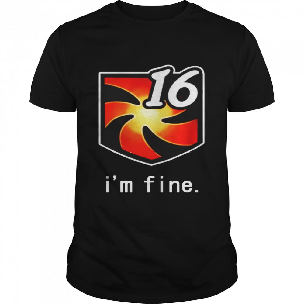 I'm fine Vuln Stacks shirt