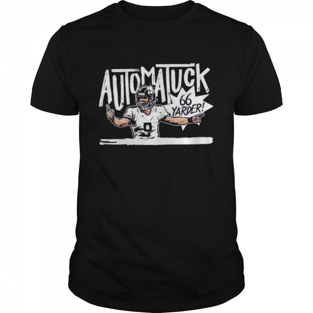 Justin Tucker Automatuck 66 Yarder shirt