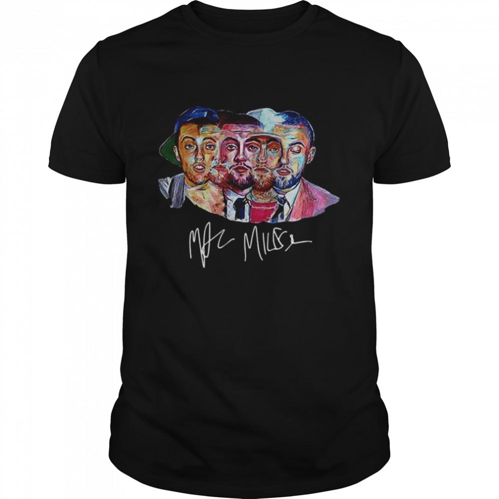 The Evolution Of Mac Miller Signature T-shirt