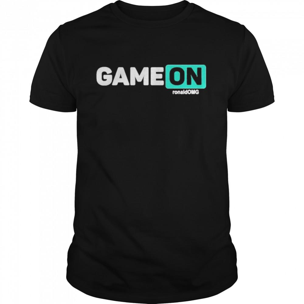 Game on sis vs bro youth shirt