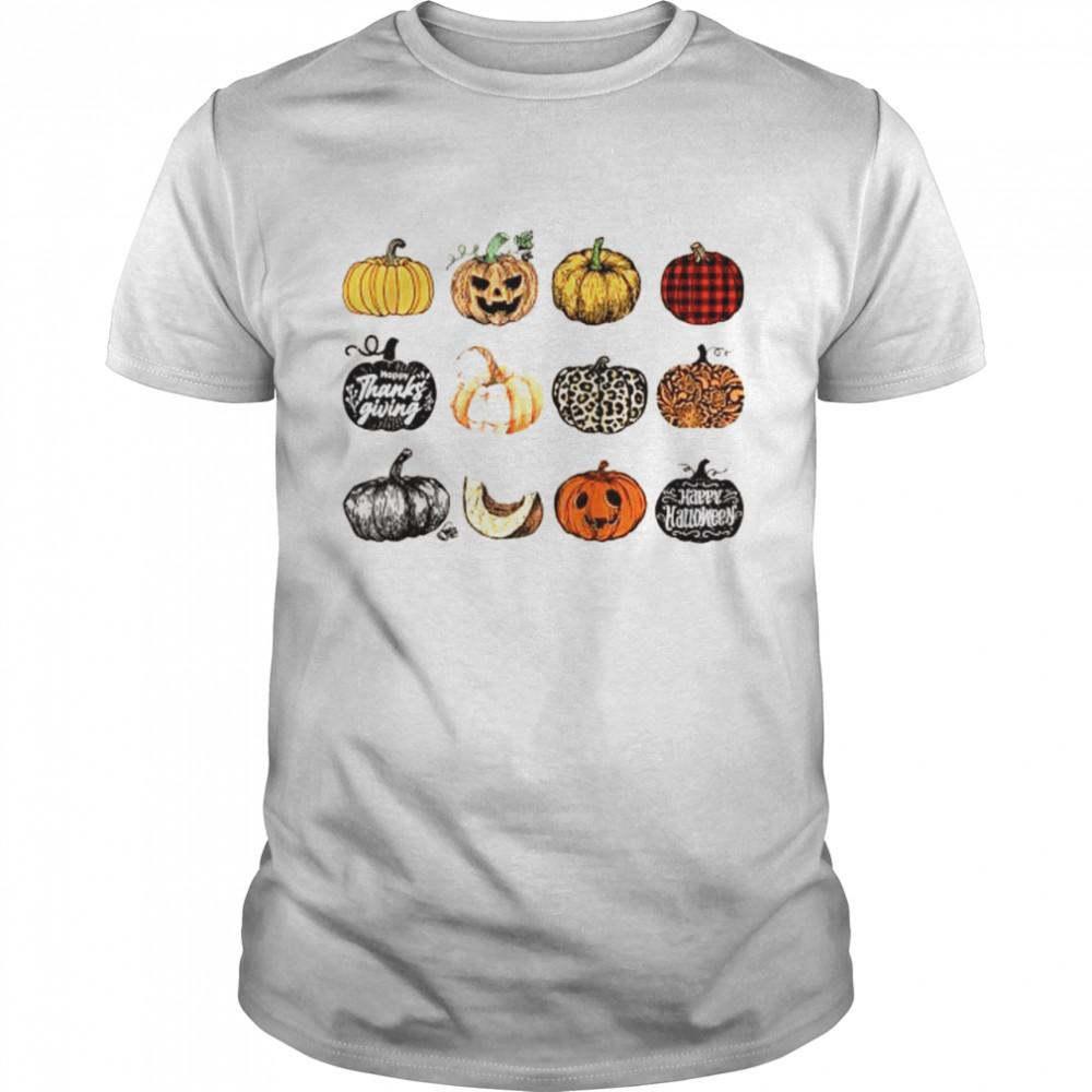 It's the Little Things Fall Harvest Pumpkins Thanksgiving Shirt