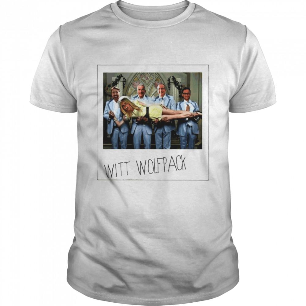The Witt Wolfpack Hangover parody shirt