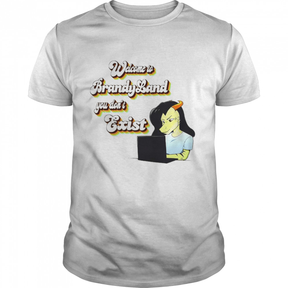 Welcome to Brandy Land you don't exist shirt