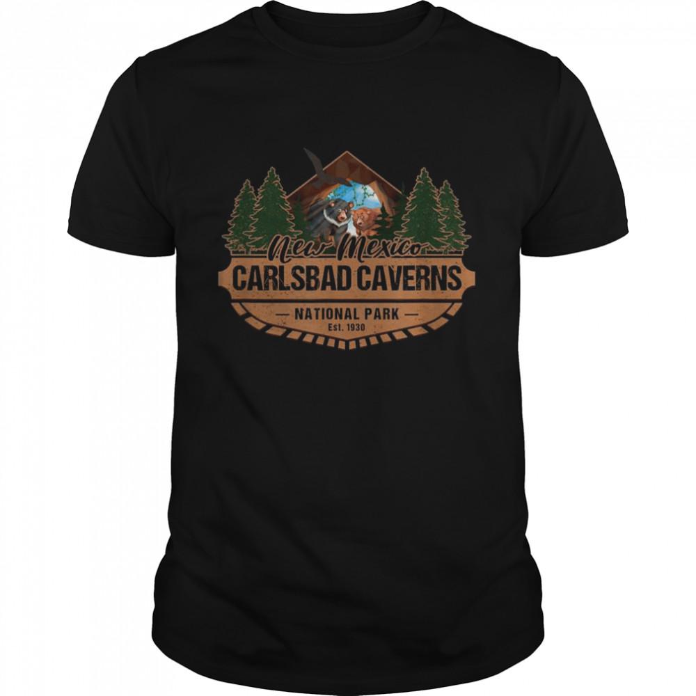 Carlsbad Caverns National Park New Mexico Vacation Souvenir Shirt