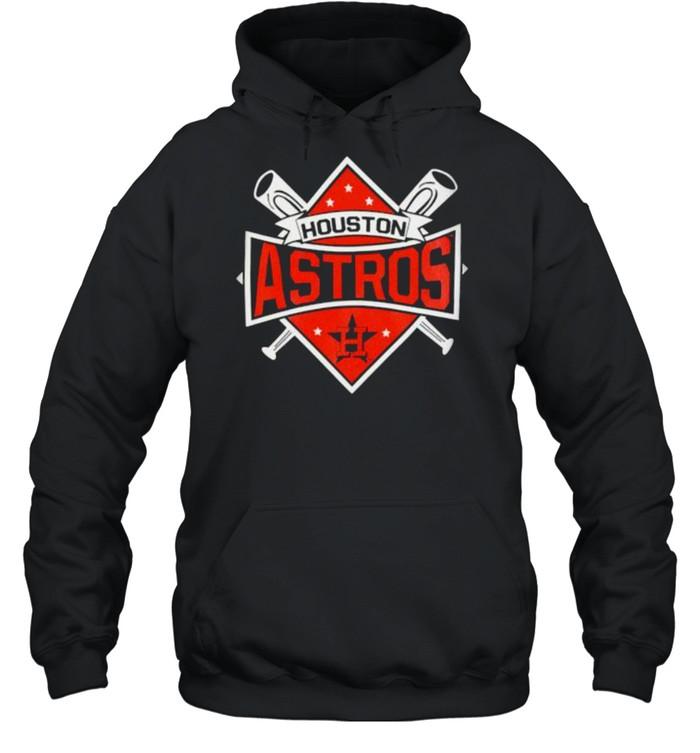 houston Astros Toddler Diamond Bats 2021 shirt Unisex Hoodie