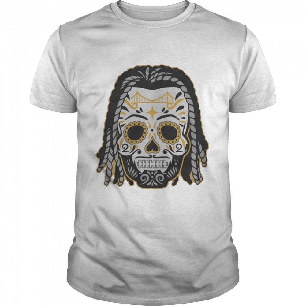 najee Harris sugar skull shirt